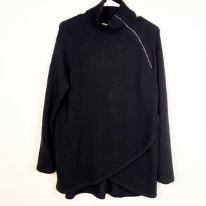 Soft Surroundings Black Pullover Sweater